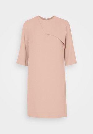 DRAPE DETAIL SHIFT DRESS - Day dress - pink
