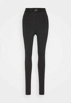 LONG  - Leggings - black