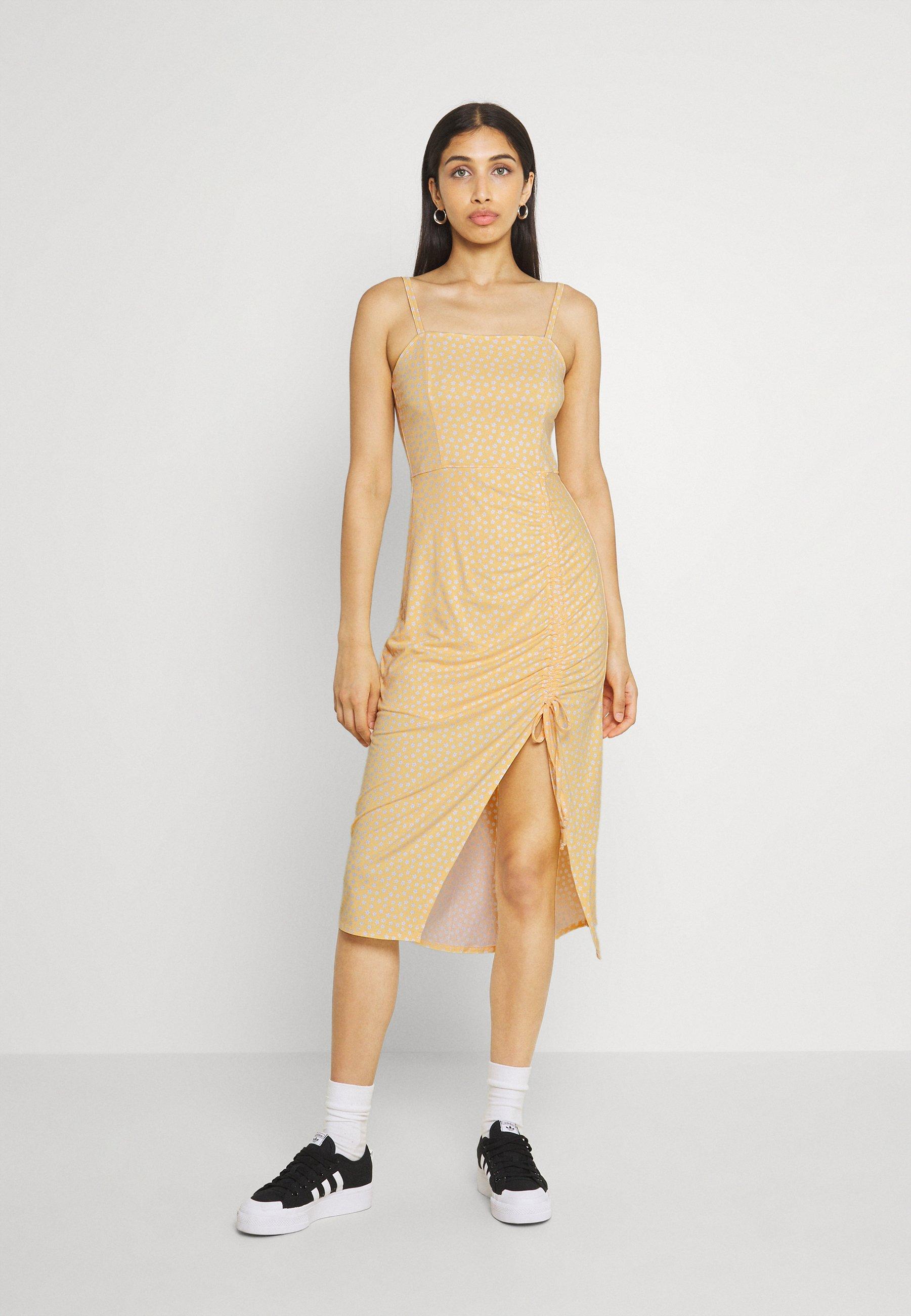 Women MIDI DRESS - Jersey dress