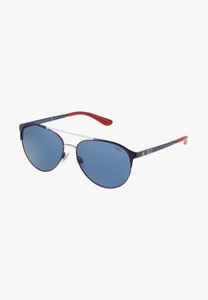 Occhiali da sole - navy blue/red/white