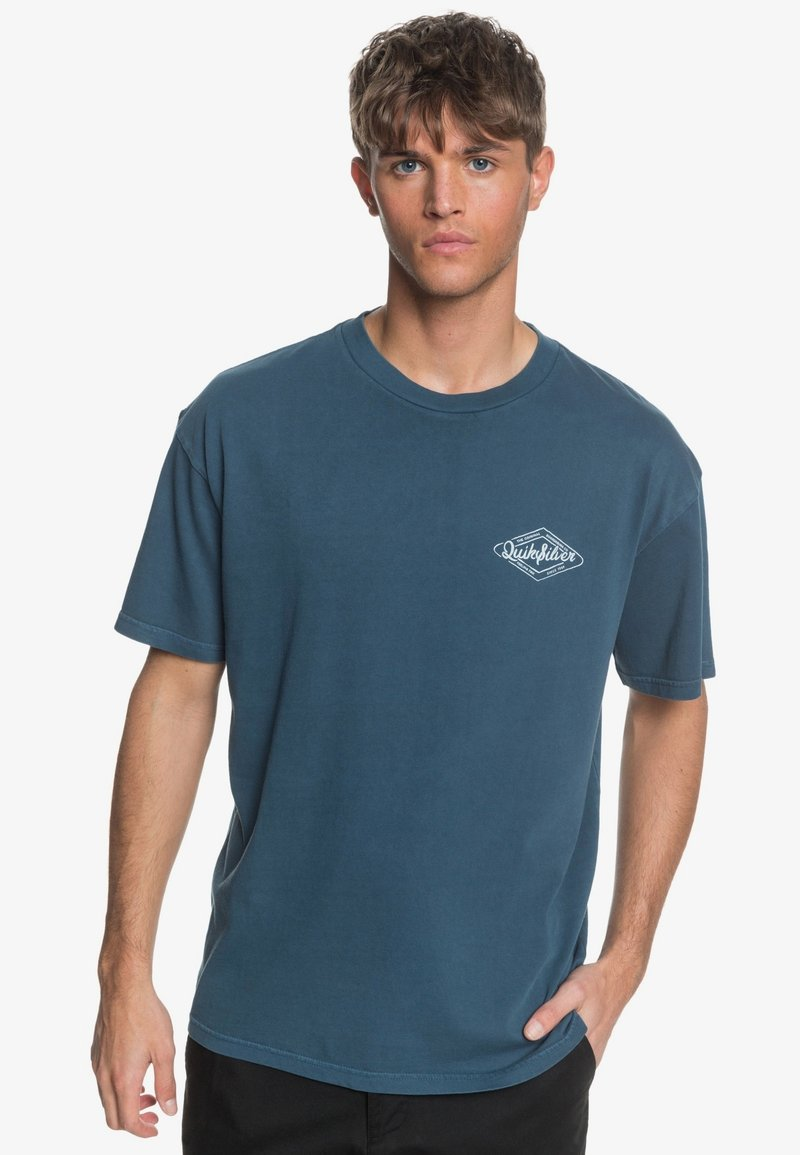 Quiksilver - HARMONY HALL  - T-shirt print - majolica blue