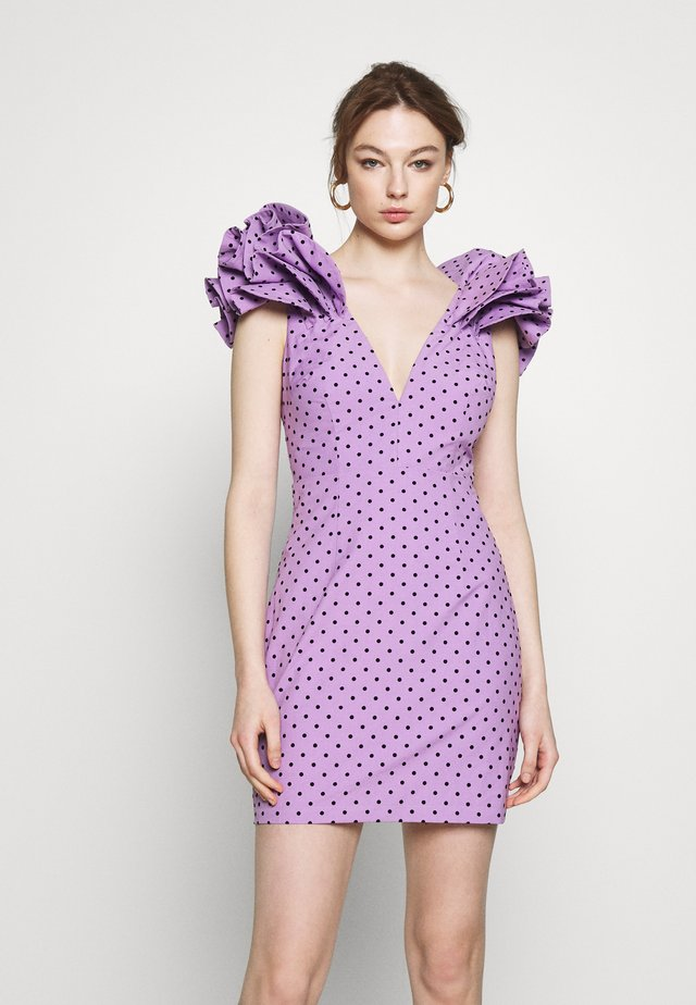 BEAUTIFUL STRANGER MINI DRESS - Juhlamekko - lilac