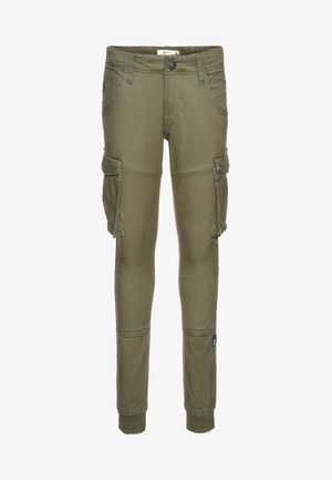 NITBAMGO PANT  - Cargo trousers - deep lichen green