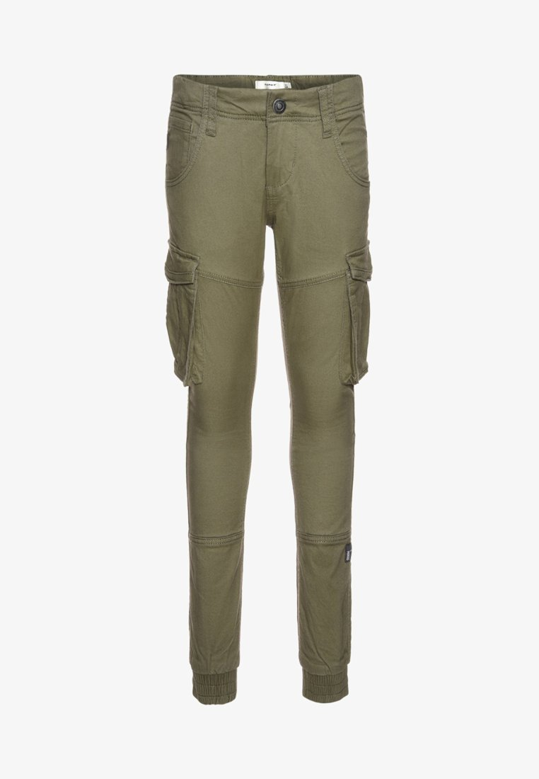 Name it - NITBAMGO  - Cargo trousers - deep lichen green