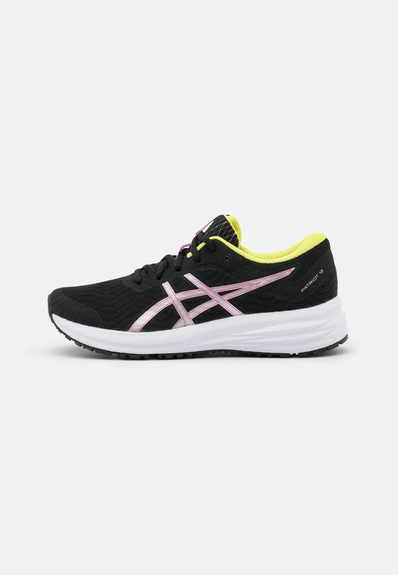 ASICS - PATRIOT 12 - Scarpe running neutre - black/hot pink