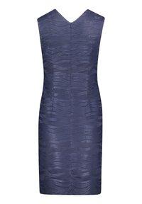 Vera Mont - MIT GLANZEFFEKT - Cocktail dress / Party dress - dunkelblau - 3