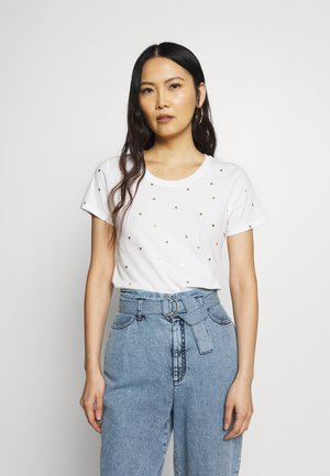 FAV CREW - Print T-shirt - milk