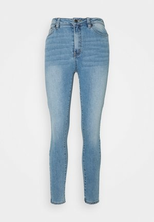 OBJWIN SKINNY - Jeans Skinny Fit - light blue denim