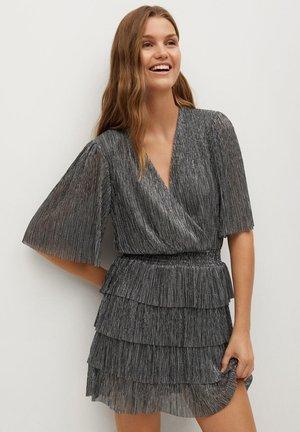 ASTAIRE - Vestido de cóctel - sølv