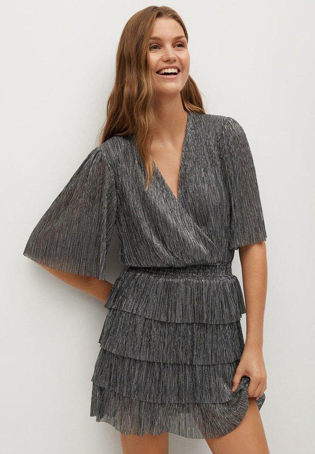 ASTAIRE - Sukienka koktajlowa - sølv