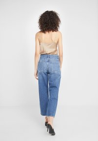 Agolde - REN WIDE LEG - Jeansy Relaxed Fit - blue denim - 2