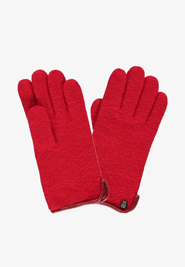 KLASSISCHER WALK - Gloves - red