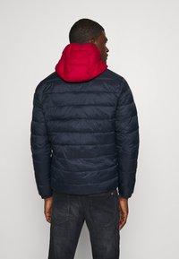 Jack & Jones - JJVINCENT PUFFER HOOD - Winter jacket - tango red - 2