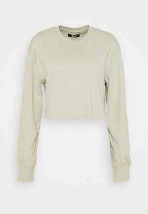 Botanical dyed - Long sleeved top - olive