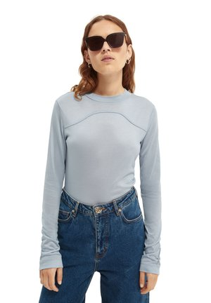 Long sleeved top - french blue