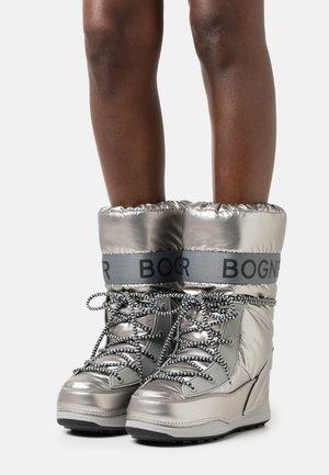 LES ARCS  - Winter boots - silver/black