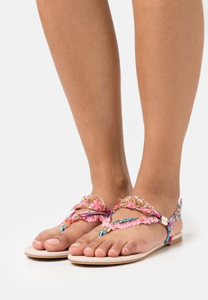 VEGAN REBECCA - T-bar sandals - pink