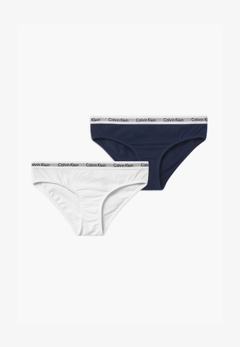 Calvin Klein Underwear - 2 PACK - Briefs - dark blue/white