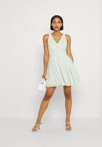 Lace & Beads - CHERELLE SKATER - Koktejlové šaty/ šaty na párty - mint - 1