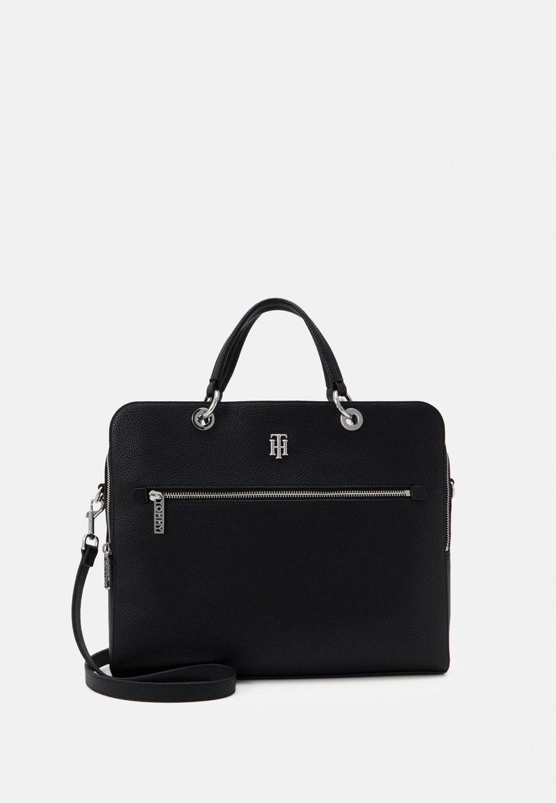 Tommy Hilfiger - ESSENCE COMPUTER BAG - Laptoptas - black
