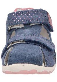 Superfit - Touch-strap shoes - blau/rosa - 5