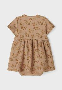 Lil' Atelier - Jersey dress - nougat - 1