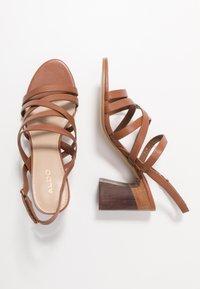 ALDO - DINDILOA - Sandals - cognac - 3