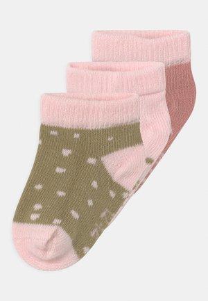 3 PACK UNISEX - Ponožky - brown