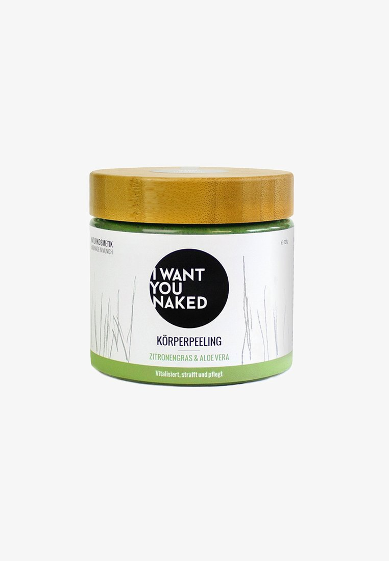I WANT YOU NAKED - BODY SCRUB 720G - Body scrub - zitronengras & aloe vera