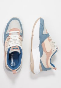 mtng - Sneakers basse - soft petroleo/suprima gris/claro yoda rosa - 3