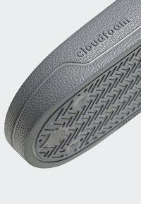 adidas Performance - ADILETTE CLOUDFOAM SLIDES - Pool slides - grey - 8