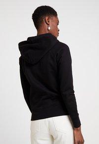 GAP - Zip-up hoodie - true black - 2