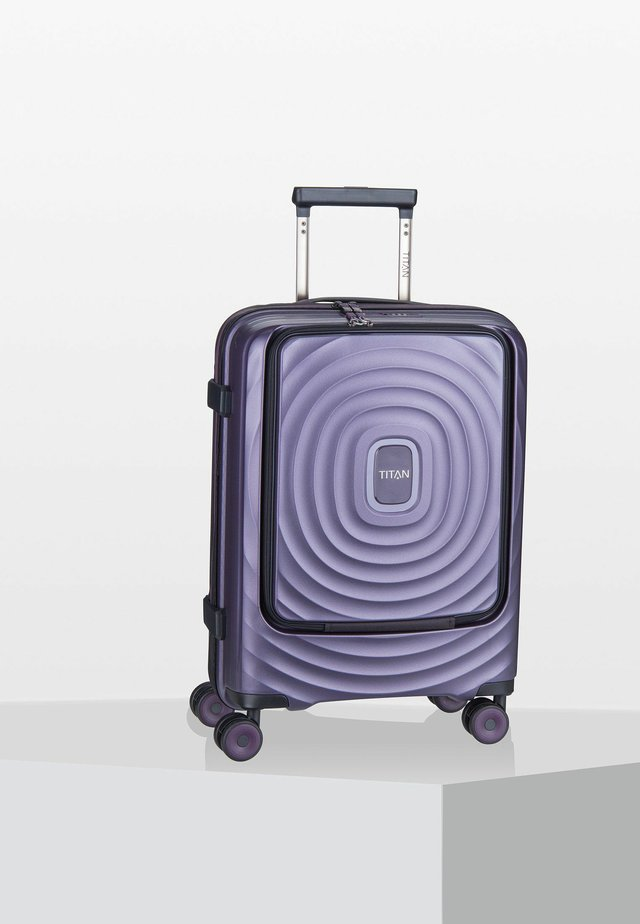 LOOPING FRONT POCKET - Valise à roulettes - purple