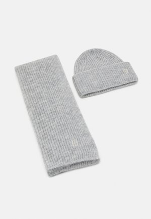 EFFORTLESS GIFT PACK SET - Scarf - grey