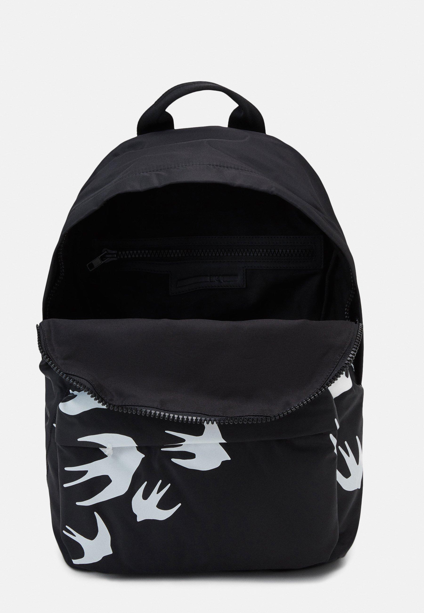 McQ Alexander McQueen CLASSIC BACKPACK SWALLOW - Ryggsekk - black/svart 1fCtCAyoZT2AkSh