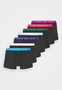 Calvin Klein Underwear - TRUNK 7 PACK - Pants - black - 4