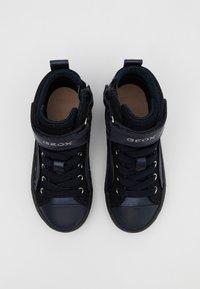Geox - KALISPERA GIRL - Sneakersy wysokie - dark navy - 3