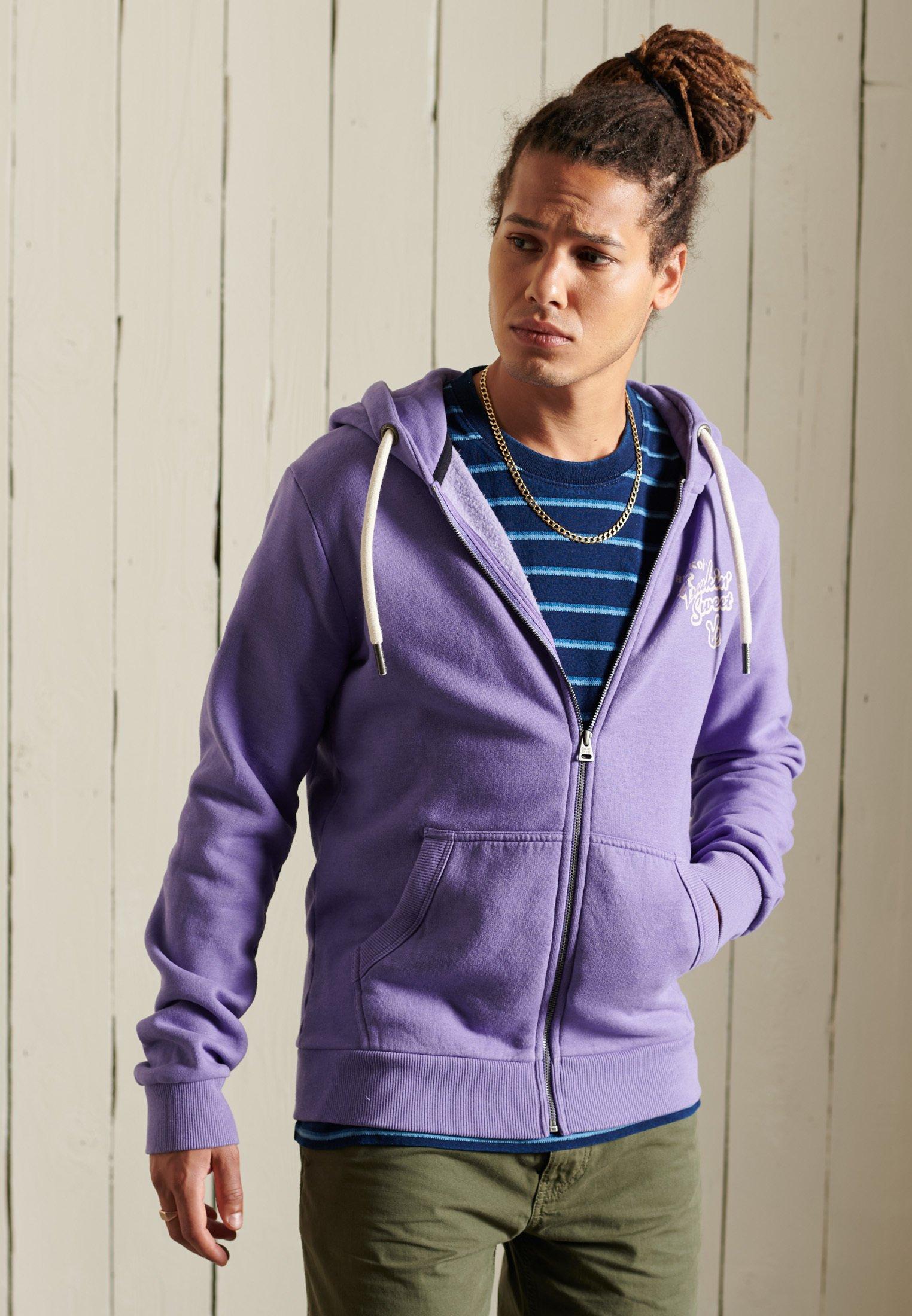 Men HERITAGE MOUNTAIN - Zip-up sweatshirt