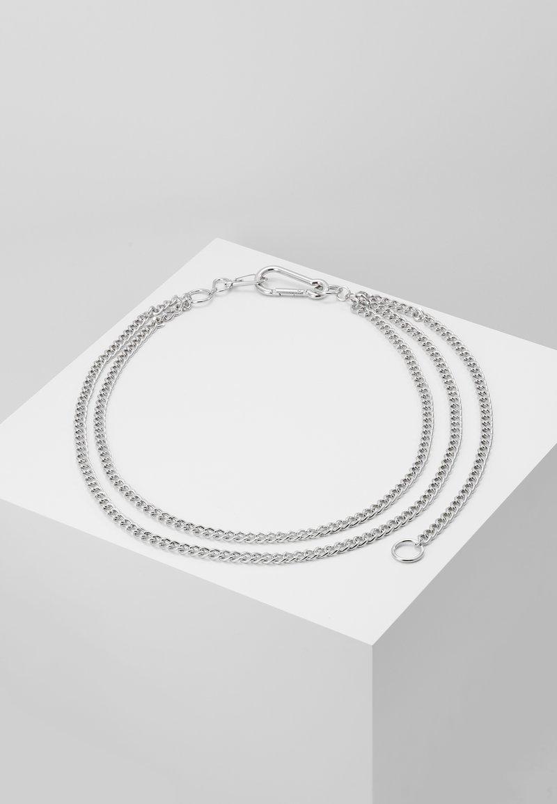 Hikari - MULTIROW TROUSER CLIP - Nyckelringar - silver-coloured