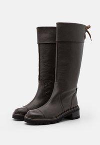 See by Chloé - Vysoká obuv - testa di moro - 2