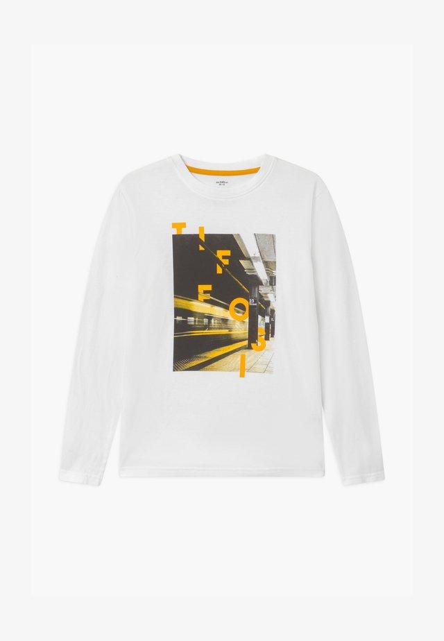 MATISSE - Camiseta de manga larga - white