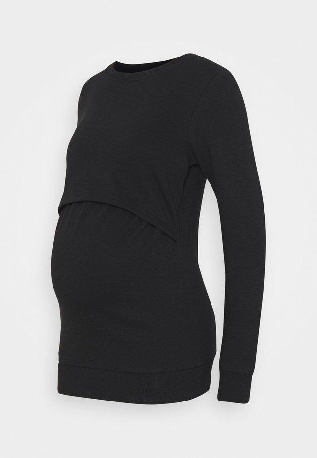 NURSING - Sweatshirt - Mikina - black