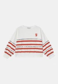 Patrizia Pepe - FELPA RIGATA - Sweater - white - 0
