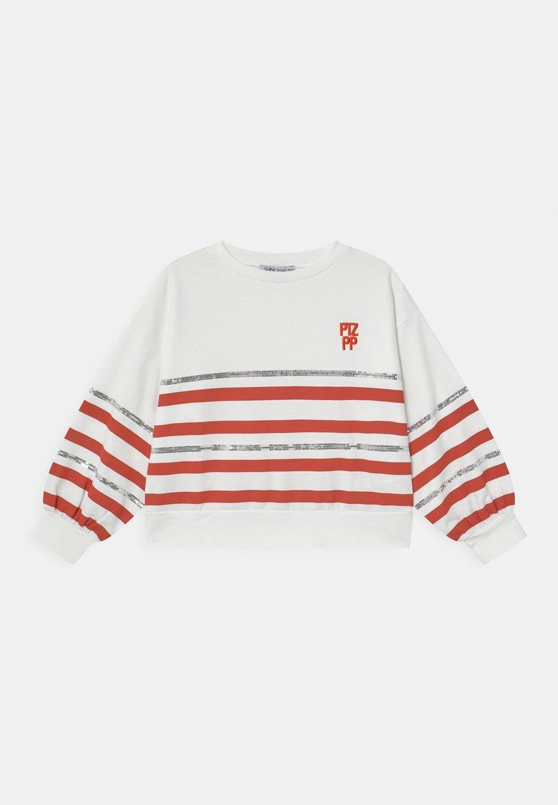 Patrizia Pepe - FELPA RIGATA - Sweater - white