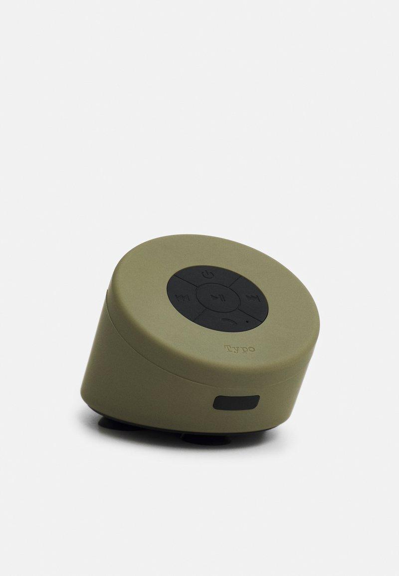 TYPO - SHOWER SPEAKER - Reproduktor - khaki
