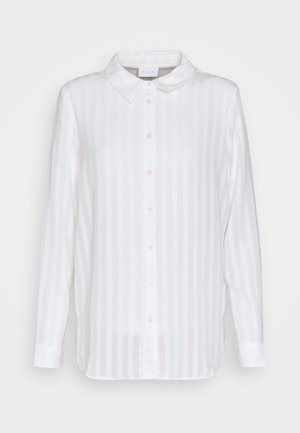 VIKAMOLIA SHIRT - Button-down blouse - cloud dancer
