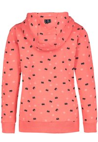Sublevel - Zip-up sweatshirt - light red - 1