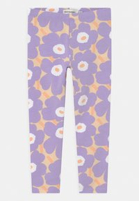 Marimekko - LAIRI MINI  - Leggings - Trousers - light yellowish/lavender - 0