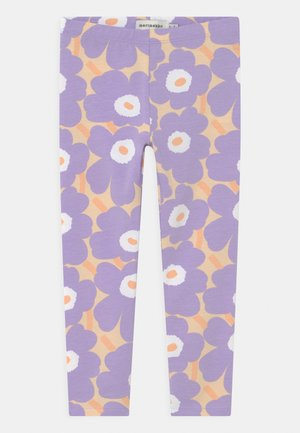 LAIRI MINI  - Leggings - Trousers - light yellowish/lavender