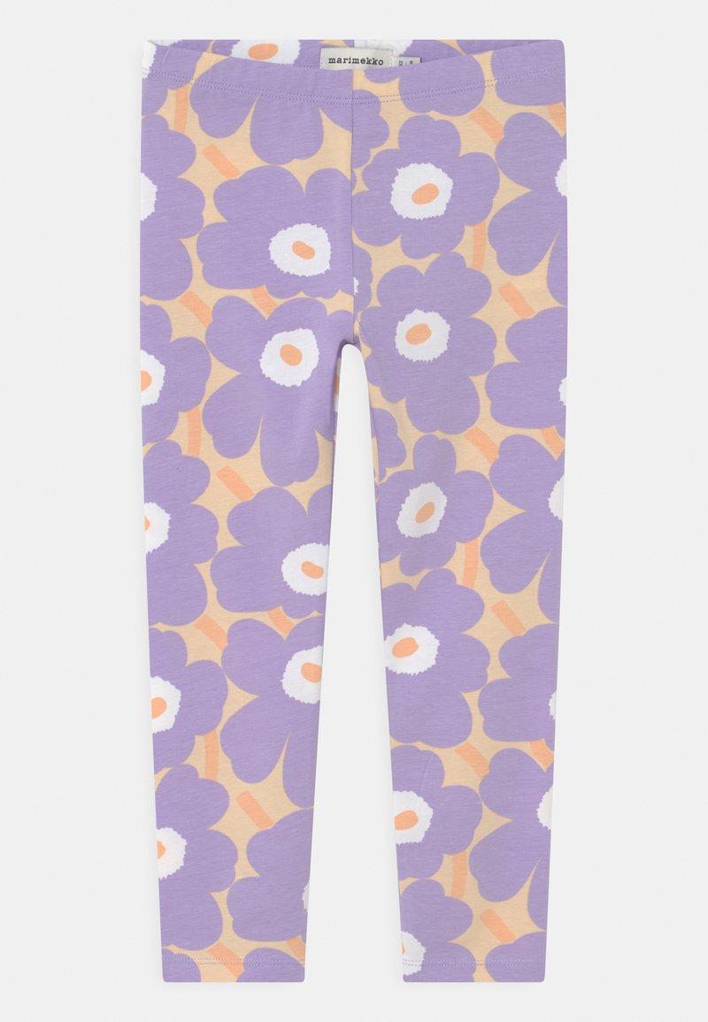 Marimekko - LAIRI MINI  - Leggings - Trousers - light yellowish/lavender
